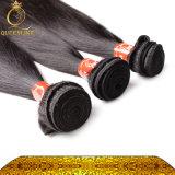 Волосы мягких перуанских волос Weft естественные шелковистые прямые (FDX-PST-1B)