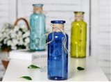 Nuovo Desing Spraying Glass variopinto Vase con String