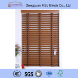 Твёрдая древесина Blinds 50mm Solid Wood Slat Wood Blind Premium качества