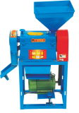 Kompakte Familien-Gebrauch-Reismühle-Maschinerie
