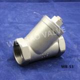 Filtre de type Y 304/316 en acier inoxydable avec fil femelle