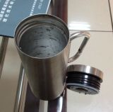 Handle (CL1C-B035B-A)のステンレス製のSteel Coffee Mug