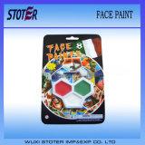 Peinture colorée de face du football d'art non-toxique d'arc-en-ciel