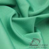 agua de 75D 260t y de la ropa de deportes tela punteada tejida chaqueta al aire libre Viento-Resistente 100% de la pongis del poliester del telar jacquar abajo (E007)
