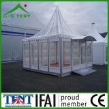 Tente provisoire d'écran de pagoda de Gazebo transparent de Tente