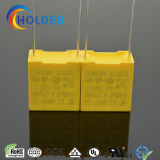 Condensador metalizado nuevo rectángulo de la película del polipropileno (X2 0.68UF/275V D7)