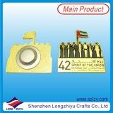 محترفة عادة معدنة شارة الصين صاحب مصنع