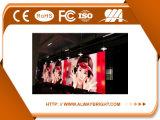 Alta visualizzazione di LED locativa di pubblicità dell'interno di luminosità P6