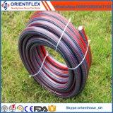 Boyau coloré flexible de l'eau de jardin tricoté par PVC