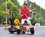 2016 bici elettrica/motorino/motociclo Citycoco della nuova rotella di 2000W 60V 2 con indicatore luminoso posteriore e Mirro