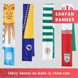 印刷ポリエステルスカーフか昇進のスカーフのファンスカーフ