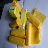 De plastic HDPE of LDPE Zak van de Zakken van het Afval van Materialen op Broodje