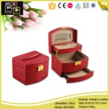 Saborosa e mão útil - plutônio feito caixa de jóia de couro (5476)