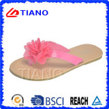 Fashion and Cute Girl's Flip-Flops avec TPR Outsole (TNK50030)