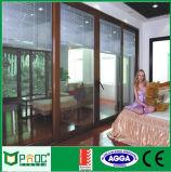 よい価格の二重ガラスアルミニウムスライドガラスドア