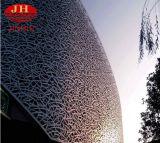 El panel de techo de aluminio del diseño especial usado para la pared de Exteriror decorativa