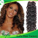 Estensione brasiliana di vendita calda dei capelli umani del grado economico 7A