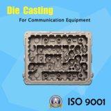 De aluminio modificada para requisitos particulares OEM a presión el dispositivo de comunicación de la fundición