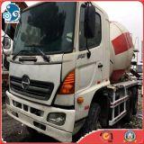 De niet geroeste Gebruikte Vrachtwagen van de Concrete Mixer van het Cement van Japan (6*4 Hino 500)
