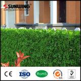 Sunwingの紫外線保護された緑の人工的なプラスチックキヅタの葉の庭の塀