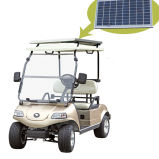 Carro de golf eléctrico con el panel solar (DEL3022G, 2-Seater)