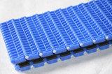 Rutschfestes modulares Plastikförderband mit gute Qualitätsgummiauflage