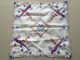 Het met de hand gemaakte Tafelkleed van de Stijl van het Borduurwerk Cutwork Amerikaanse