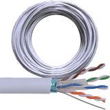 Câble de ftp CAT6 avec le blanc du Cu CCA de 305m 24AWG 23AWG