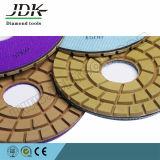 ダイヤモンドの床の磨くパッド80mm、100mm、125mm。 150mm。 180mm、200mm