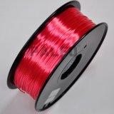3D 인쇄 기계 필라멘트 PLA 실크는 탁상용 프린터를 위한 합성 중합체 3D 필라멘트를 좋아한다