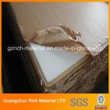 Лист Orangic стеклянный пластичный акриловый с краями девственницы для предохранения