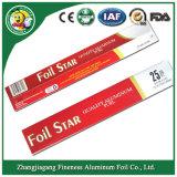 Roulis de papier d'aluminium de ménage de prix concurrentiel