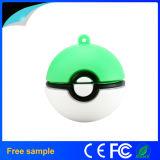 Stok van de Bal USB van Pikachau Pokemon van de Gift van het Embleem van de douane de Promotie