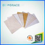 Пыль Nomex ткани промышленного топления упорная собирая фильтр мешка