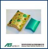 Rectángulo de regalo de papel de lujo de la almohadilla