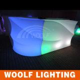 바 새로운 혁신적인 바 카운터를 위한 다른 모양 LED 가벼운 테이블