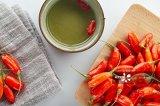 La salute fruttifica bacca asciutta organica di Goji