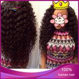 100% Menschen-Jungfrau-Haar-tiefes Wellen-Menschenhaar