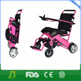 Disabled Peopleのための軽量のFolding Electric Power Wheelchair