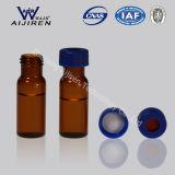 2ml Amber HPLC Glass Vial mit Cap und Septa Sample Vial