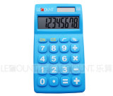 Large Keys (LC317)를 가진 8개의 손가락 Dual Power Handheld Calculator