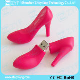 Изготовленный на заказ привод вспышки USB конструкции ботинка розовой повелительницы Высок-Пятки (ZYF5032)