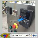 Pequeña réplica eléctrica del esterilizador de la autoclave con el registrador sin papel