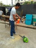 Máquina de corte de madera de la cadena de la gasolina