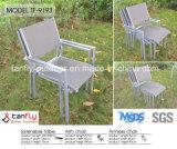 Aluninum 최상 프레임 Textilene 연장할 수 있는 테이블 및 의자