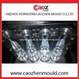 Moldeo por insuflación de aire comprimido de la buena botella plástica de la bebida