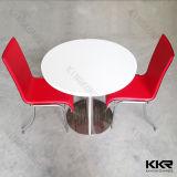 Kundenspezifische Größen-runder künstlicher Marmorsteinbankett-Tisch (T1610114)