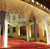 Напольные света занавеса украшения СИД венчания