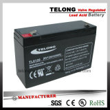 6V4ah de navulbare Zure Batterij van het Lood met van Ce Ul- Certificaat