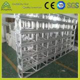 fardo de alumínio de medida do parafuso de parafuso do estágio do desempenho de 18m